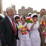 Bruce Alberts and Rich Stone in China