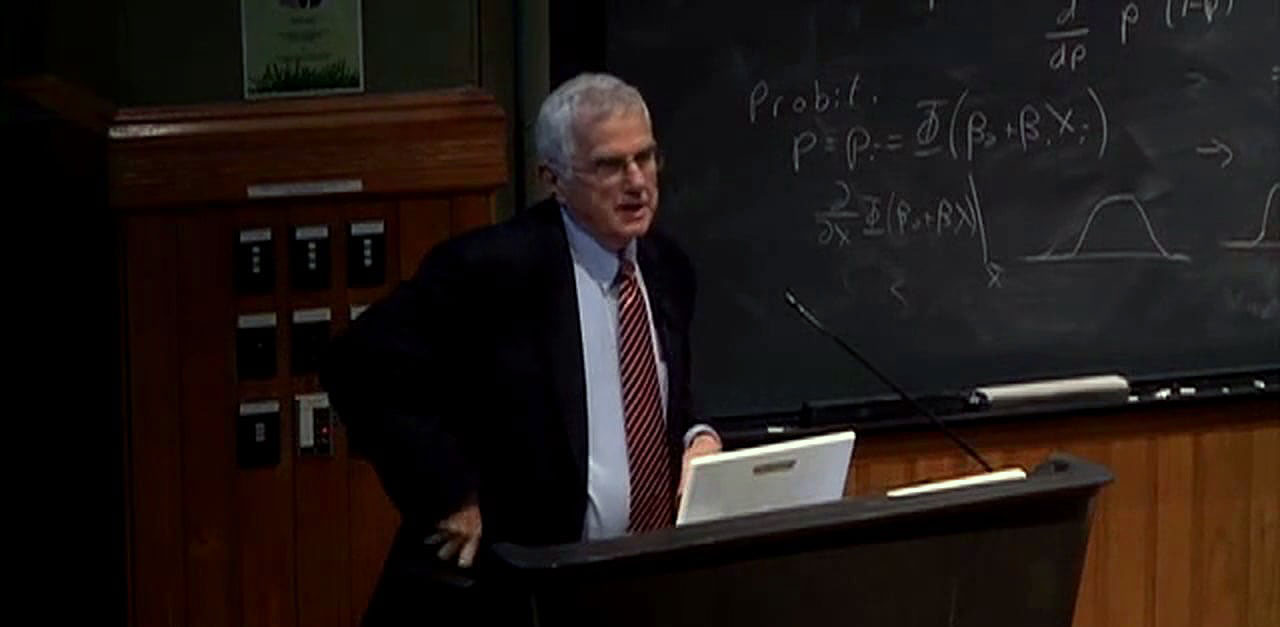 Giving the Harvard University Dudley Herschbach Teacher/Scientist Lecture in 2010.
